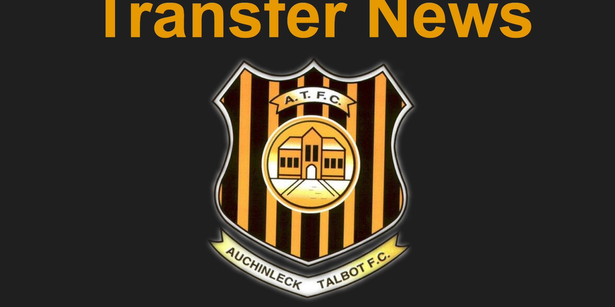 Talbot sign two two players auchinleck talbot football club talbot biocorpaavc