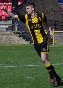 Talbot Winning Penalty Celeb