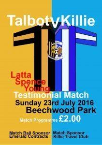 The match programme.