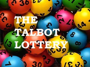 TALBOT WEEKLY LOTTERY DRAW