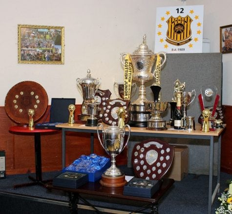 Auchinleck Talbot FC Player of the Year 2017/2018 Awards