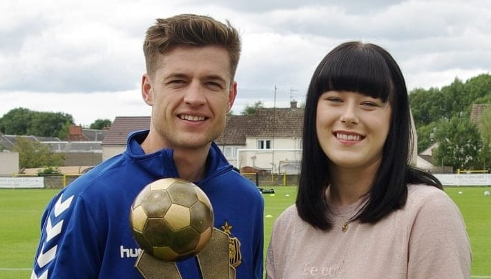 Affleck Supporters' Club Player of the Year 2017/2018