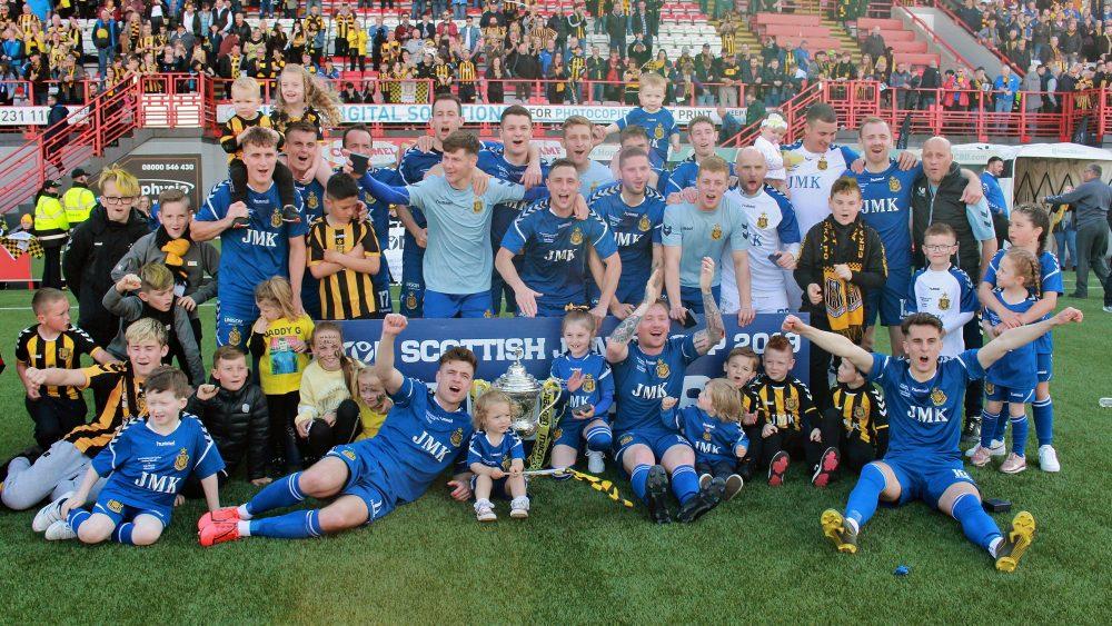 Scottish Junior Cup Champions 2019
